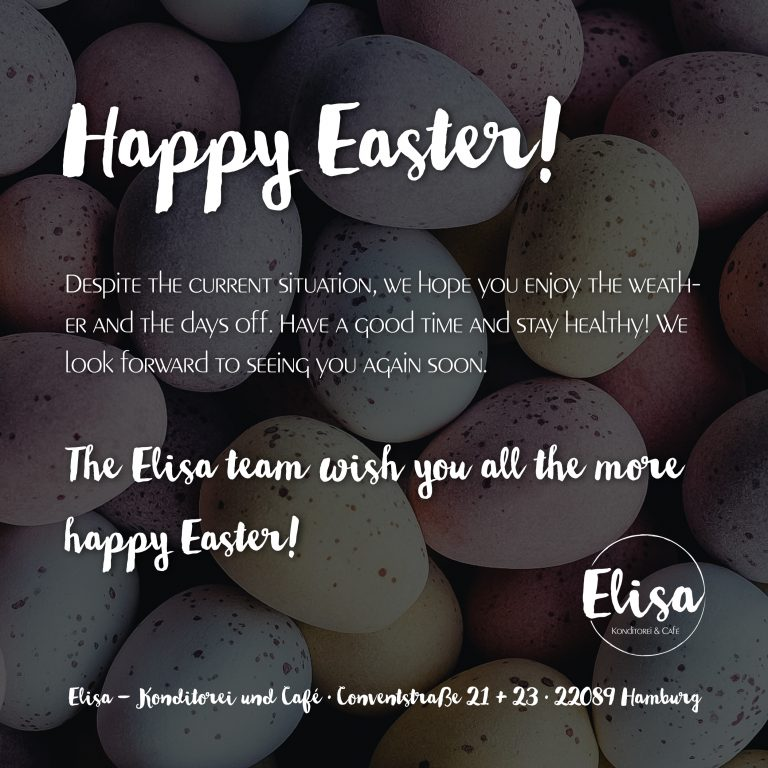Announcement Easter