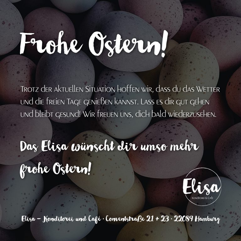 Announcement Ostern